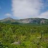 Hamlin Peak on the left above North Basin.