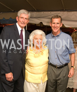 Bill Sadlack,Anne Camalier,Stanley McChrystal,Benefit for The Yellow Ribbon Fund,June 9,2011,Kyle Samperton
