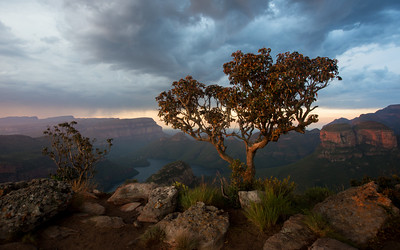 Three Rondavels, Blyde River Canyon, South Africa.