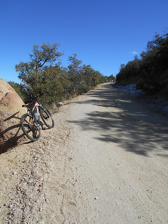 2014-02-04 Mountain Biking Huachuca Mountains