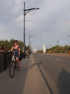 Bicycles in Warszawa. Photo: Martin Bager.