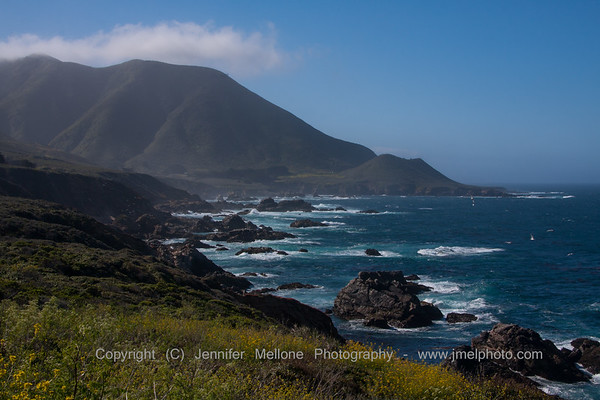 Big Sur Coast with Clearing Fog