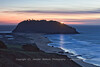 Point Sur Beacon after Sunset