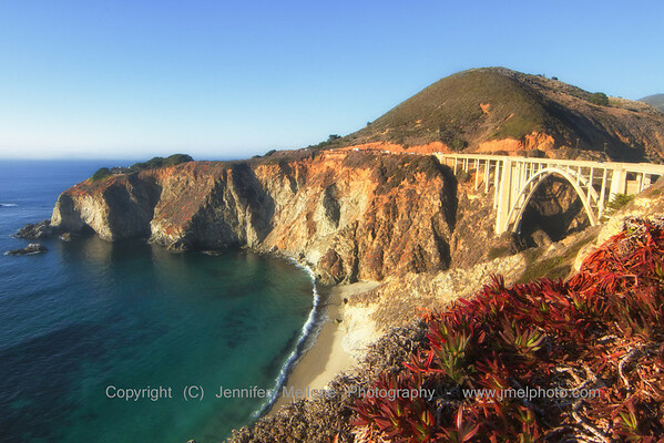 Looking North at Bixby Bridge