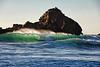 Wave Pair at Pfeiffer Beach