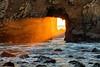 Full Strength Sunset Through the Arch