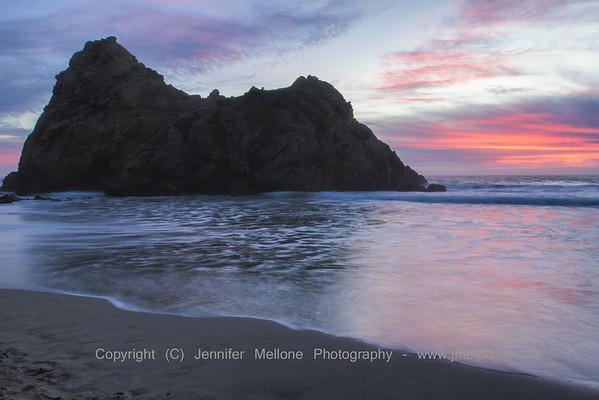Keyhole Rock Sunset