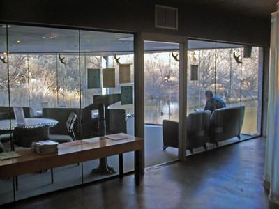 Observation room, Rio Grande Nature Center, Albq.