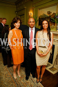 Beth Dozoretz,Yousef Al-Otaiba,Abeer Al-Otaiba.Birthday Dinner for Rima Al-Sabah, April 19, 2011, Kyle Samperton