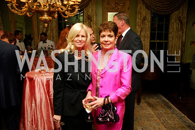 Susan Blumenthal, Diane Jones, Birthday Dinner for Rima Al-Sabah, April 19, 2011, Kyle Sampertron