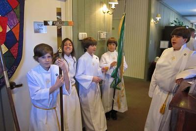 Bishop's visit 2013
