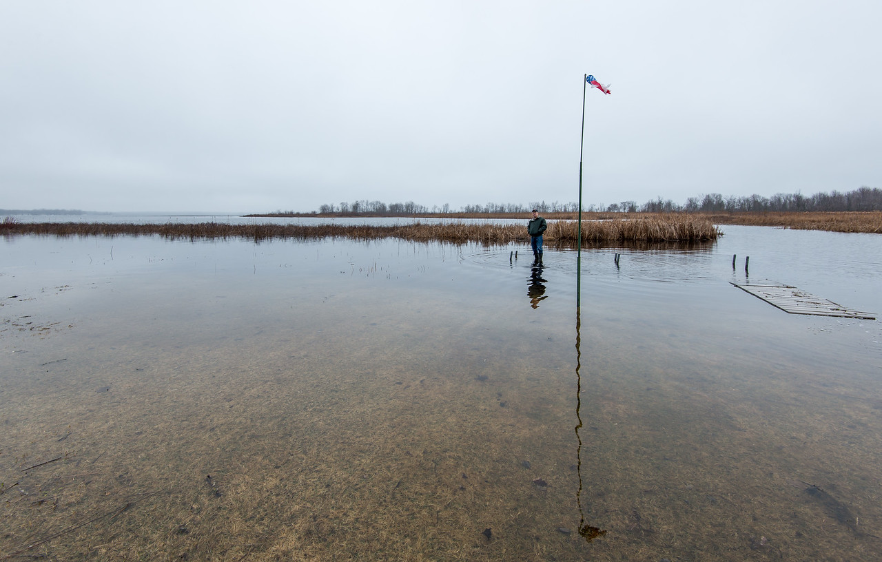High lake levels - March 31, 2016