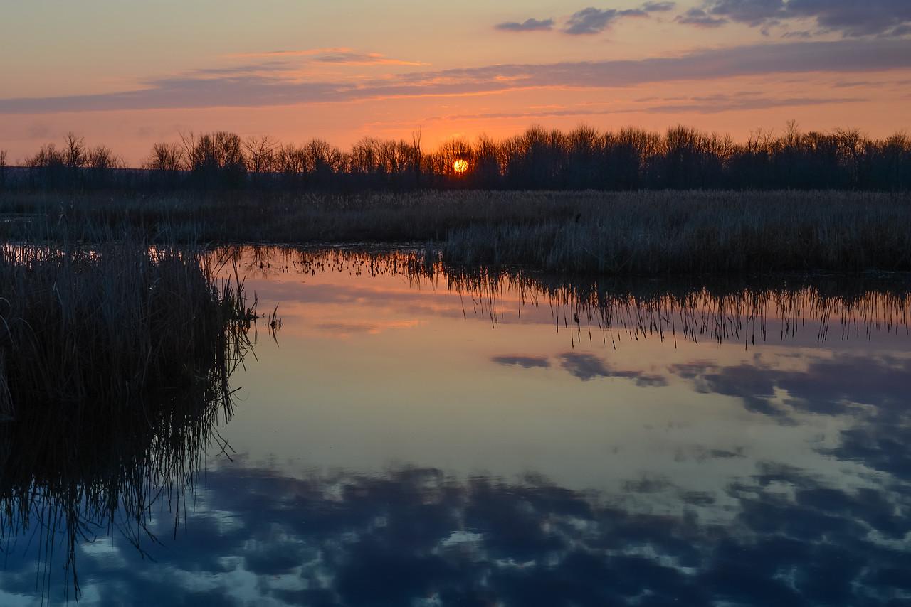 Sunrise over Black Lake - May 5, 2016