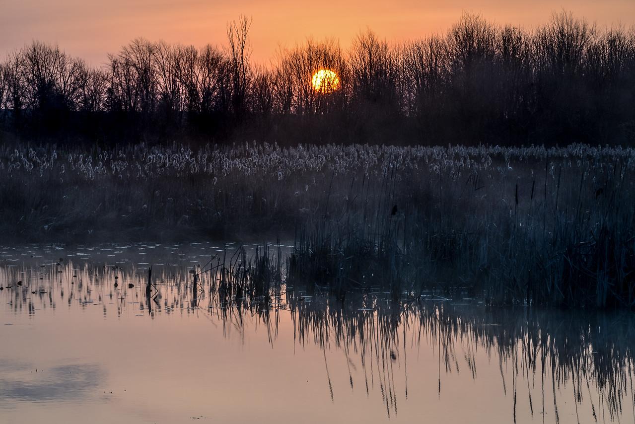 Sunrise over Black Lake - May 7, 2016