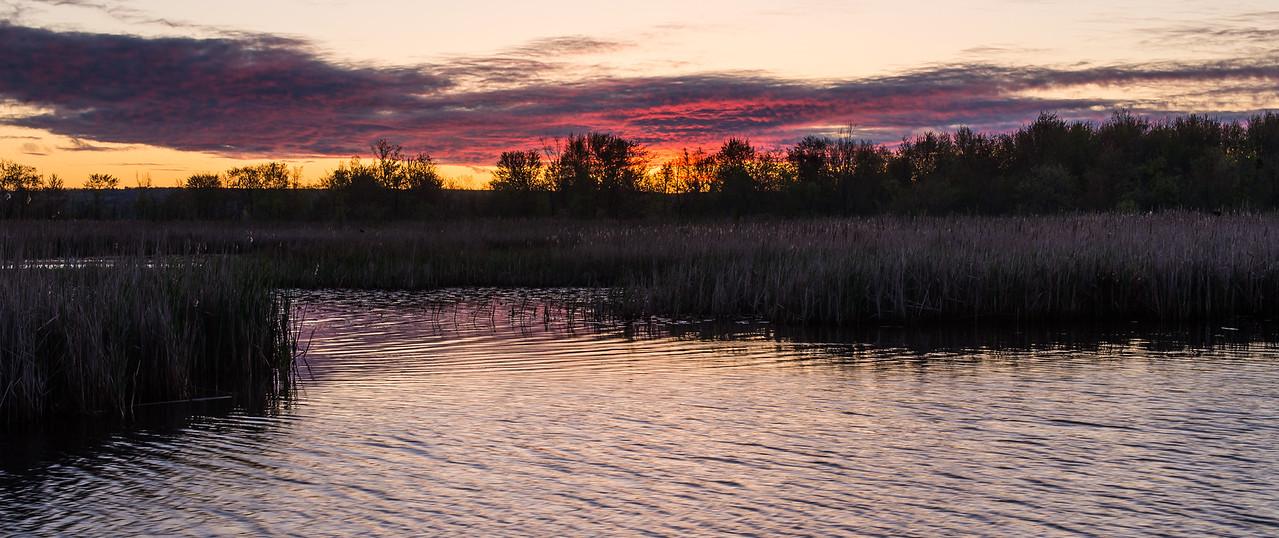 Sunrise on Black Lake, Michigan - May 2017
