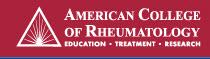 american college of rheum