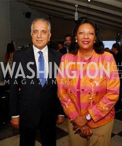 Amb.Zalmay Khalizad,Jacqueline Adams,Blue Key:Miami to D.C.,June 22.2011,Kyle Samperton