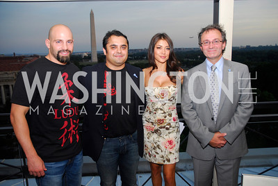 Tiki Ghosn,Hamed Wardak,Arianny Celeste,Vincent Cochetel,Blue Key:Miami to D.C.,June 22.2011,Kyle Samperton