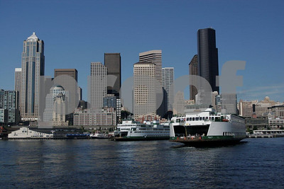 Seattle skyline ferry 1