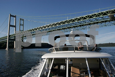 Yacht & Tacoma Narrows Bridge 2