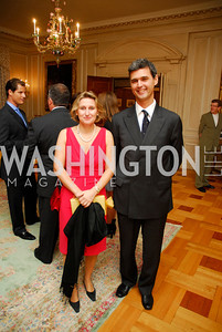 Giovanna Fruntini,Sebastiano Fulci, Book Party For Alexandra deBorchgrave,September 15,2011,Kyle Samperton
