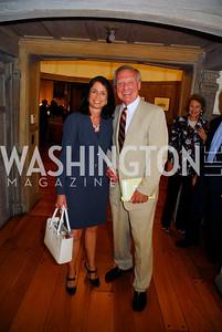Isabel Jasinowski,Jerry Jasinowski, Book Party For Alexandra deBorchgrave,September 15,2011,Kyle Samperton