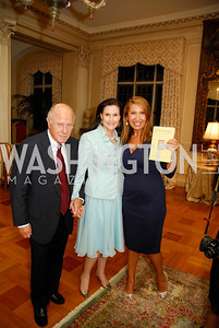 Arnaud deBorchgrave,Alexandra deBorchgrave,,Antonella Cinque, Book Party For Alexandra deBorchgrave,September 15,2011,Kyle Samperton