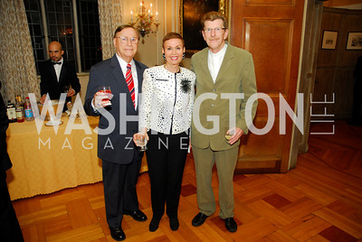 John  Ford ,Berthe Ford,Neil Greentree Book Party For Alexandra deBorchgrave,September 15,2011,Kyle Samperton