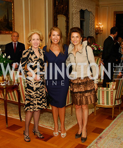 Ann Nitze,Antonella Cinque,Sedi Flugelman, Book Party For Alexandra deBorchgrave,September 15,2011,Kyle Samperton