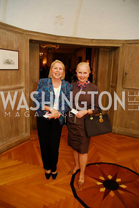 Gillian Corn,Judy Esfandiary, Book Party For Alexandra deBorchgrave,September 15,2011,Kyle Samperton