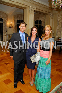 John Cecchi,Kristin Cecchi,Alexa Gelmi, Book Party For Alexandra deBorchgrave,September 15,2011,Kyle Samperton