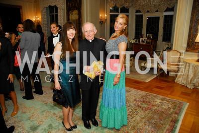 Deborah Lindsey,Nido Tomasi,Alexa Gelmi,Book Party For Alexandra deBorchgrave,September 15,2011,Kyle Samperton