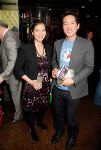 Victoria Lai,Howard Yoon,Book Party For Nick Galifianakis ,March 15,2011,at Lincoln,Kyle Samperton