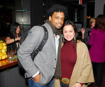 Jay Fossett,Melissa Torres,March 15,2011,Book Party For Nick Galifianakis at Lincoln.Kyle Samperton