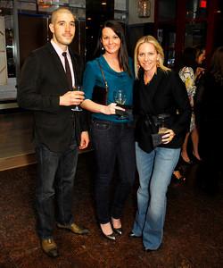 Raymond Glendening,Ashley Kowzun,Jill Daschle,Book Party For Nick Galifianakis ,March 15,2011,at Lincoln,Kyle Samperton