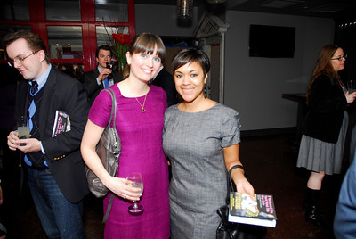 Darcy Keller,Tiffany CrossMarch 15,2011,Book Party For Nick Galifianakis at Lincoln.Kyle Samperton