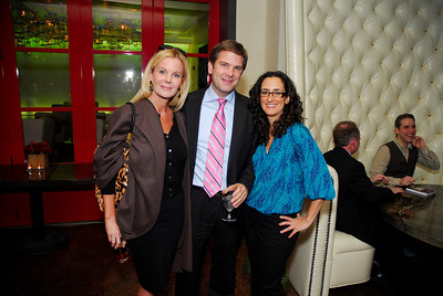 Susanna Quinn,Todd Flourney,Lauren Brownstein,March 15,2011,Book Party For Nick Galifianakis at Lincoln.Kyle Samperton