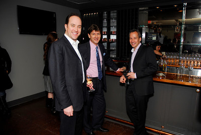 David Vennett,Lyndon Boozer,Winston Lord,March 15,2011,Book Party For Nick Galifianakis at Lincoln.Kyle Samperton