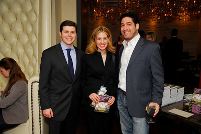 Bert Kauffman,Marissa Mitovich,Lee Brenner,March 15,2011,Book Party For Nick Galifianakis at Lincoln.Kyle Samperton