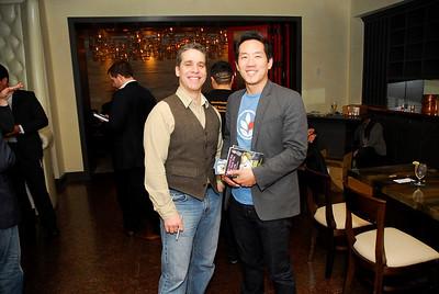 Nick Galifianakis,Howard Yoon,March 15,2011,Book Party For Nick Galifianakis at Lincoln.Kyle Samperton