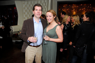 Matt Latimer,Anna Sproul,March 15,2011,Book Party For Nick Galifianakis at Lincoln.Kyle Samperton