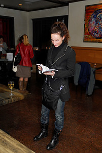Marnie Kenney,March 15,2011,Book Party For Nick Galifiankis at Lincoln.Kyle Samperton