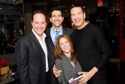 David Vennett,Nicole Boxer,Doug Damron,Marc Adelman,Book Party For Nick Galifianakis ,March 15,2011,at Lincoln,Kyle Samperton