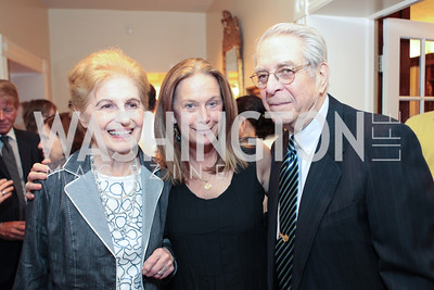 Mariam Burros, Carol Joynt, Bill Warner. Photo by Alfredo Flores Book party for Carol Joynt Innocent Spouse A Memoir hosted by Ellen Charles May 19, 2011