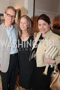 Dwight McNeill, Carol Joynt, Rachel Pierson. Photo by Alfredo Flores Book party for Carol Joynt Innocent Spouse A Memoir hosted by Ellen Charles May 19, 2011