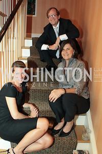 Elizabeth Powell, Jeff Powell, Amy Bondurant. Photo by Alfredo Flores Book party for Carol Joynt Innocent Spouse A Memoir hosted by Ellen Charles May 19, 2011