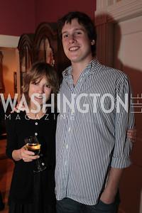 Myra Moffett, Spencer Joynt. Photo by Alfredo Flores Book party for Carol Joynt Innocent Spouse A Memoir hosted by Ellen Charles May 19, 2011