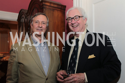 John Fox Sullivan, Anthony Lanier. Photo by Alfredo Flores Book party for Carol Joynt Innocent Spouse A Memoir hosted by Ellen Charles May 19, 2011
