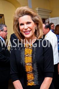 Ambassador Nancy Brinker. Photo by Tony Powell. Bradley's Welcome Dinner for WHCD. Bradley residence. April 29, 2011