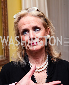 Debbie Dingell. Photo by Tony Powell. Bradley's Welcome Dinner for WHCD. Bradley residence. April 29, 2011